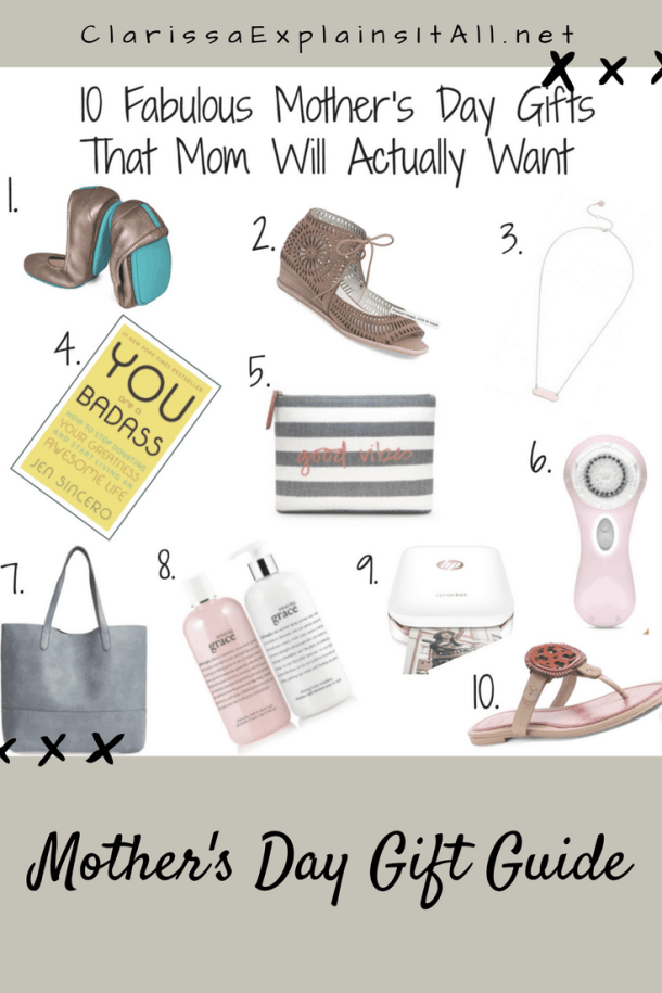 10 Fabulous Mother's Day Gifts That Mom Will Actually Want