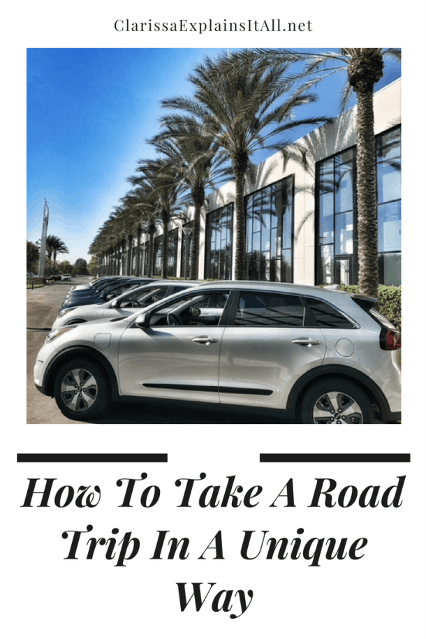 How To Take A Road Trip In A Unique Way