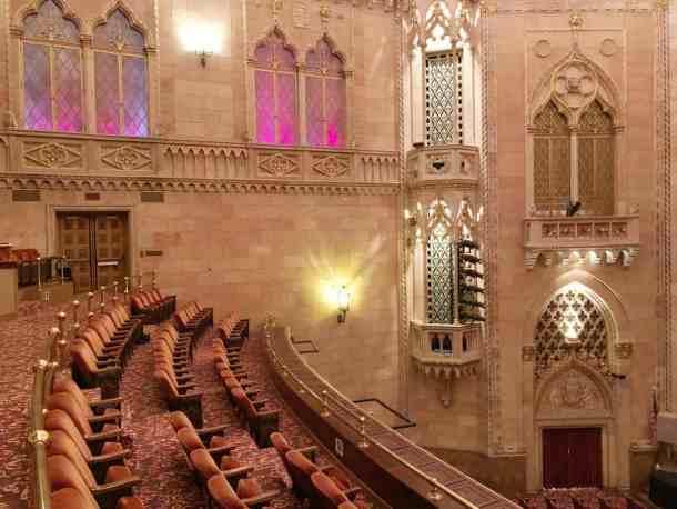 The historic Hershey Theater