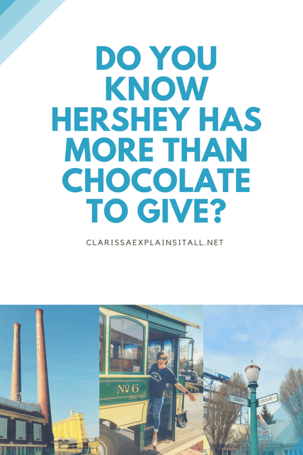 Do You Know Hershey Has More Than Chocolate To Give?
