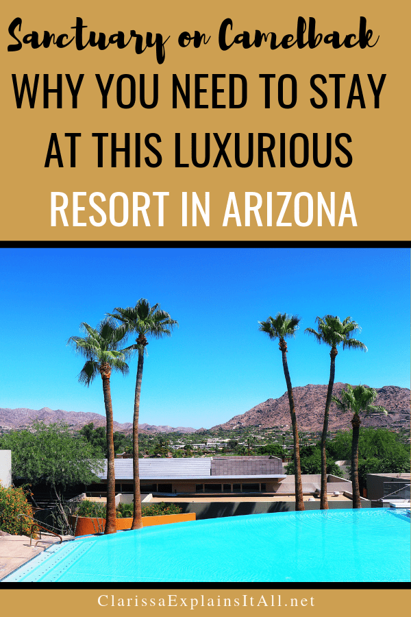 The highlight of our time in Arizona was staying at Sanctuary Resort and Spa in Scottsdale. Find Out Why You Need To Stay at Sanctuary on Camelback Resort.
