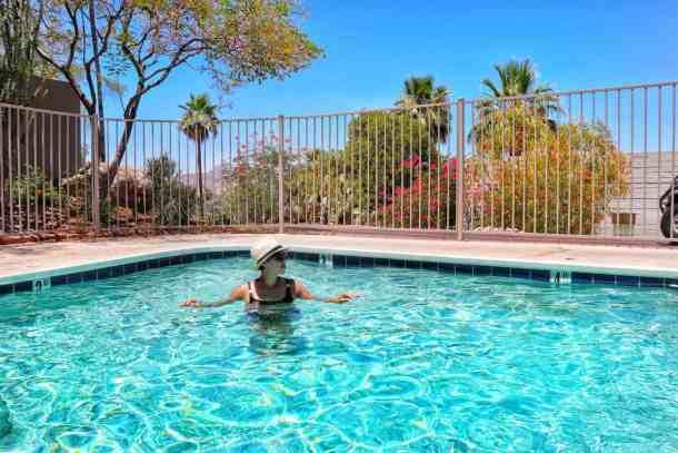 Sanctuary on Camelback Resort pool area