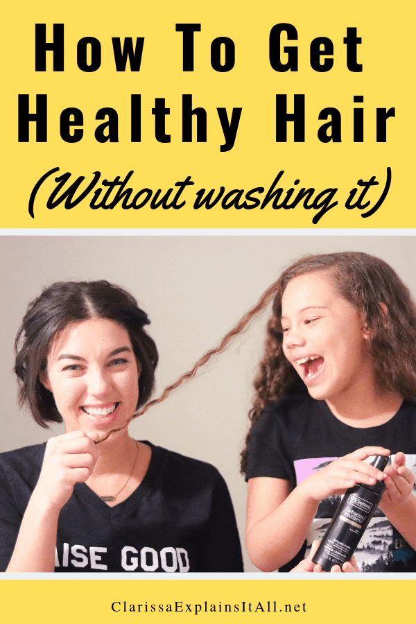 I have a simple beauty tip for you. How often do you wash your hair? Do you know how to get healthy hair this winter between washes, without sacrificing your style?