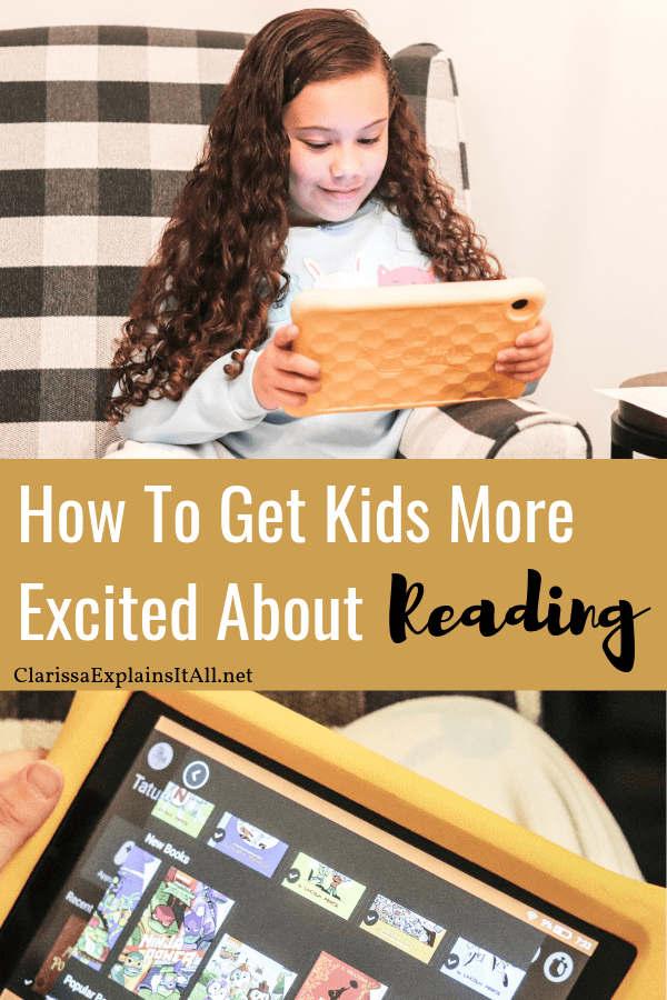 Do your kids love to read, or is it a struggle to get them excited? Here are some tips for how to get kids more excited about reading books.
