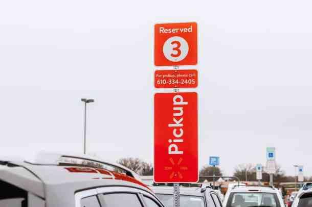 Walmart Online Grocery Pickup