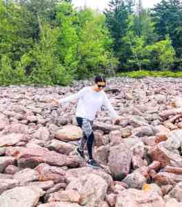 Finding my balance in life at Boulder Field