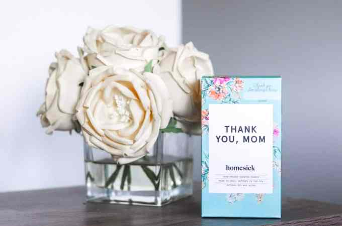 Homesick Candles Mothers Day