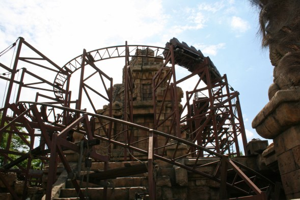 Indiana Jones Ride, Disney Paris
