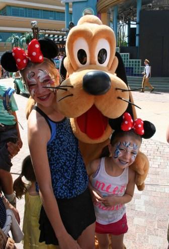 Meeting Goofy, Disney Paris