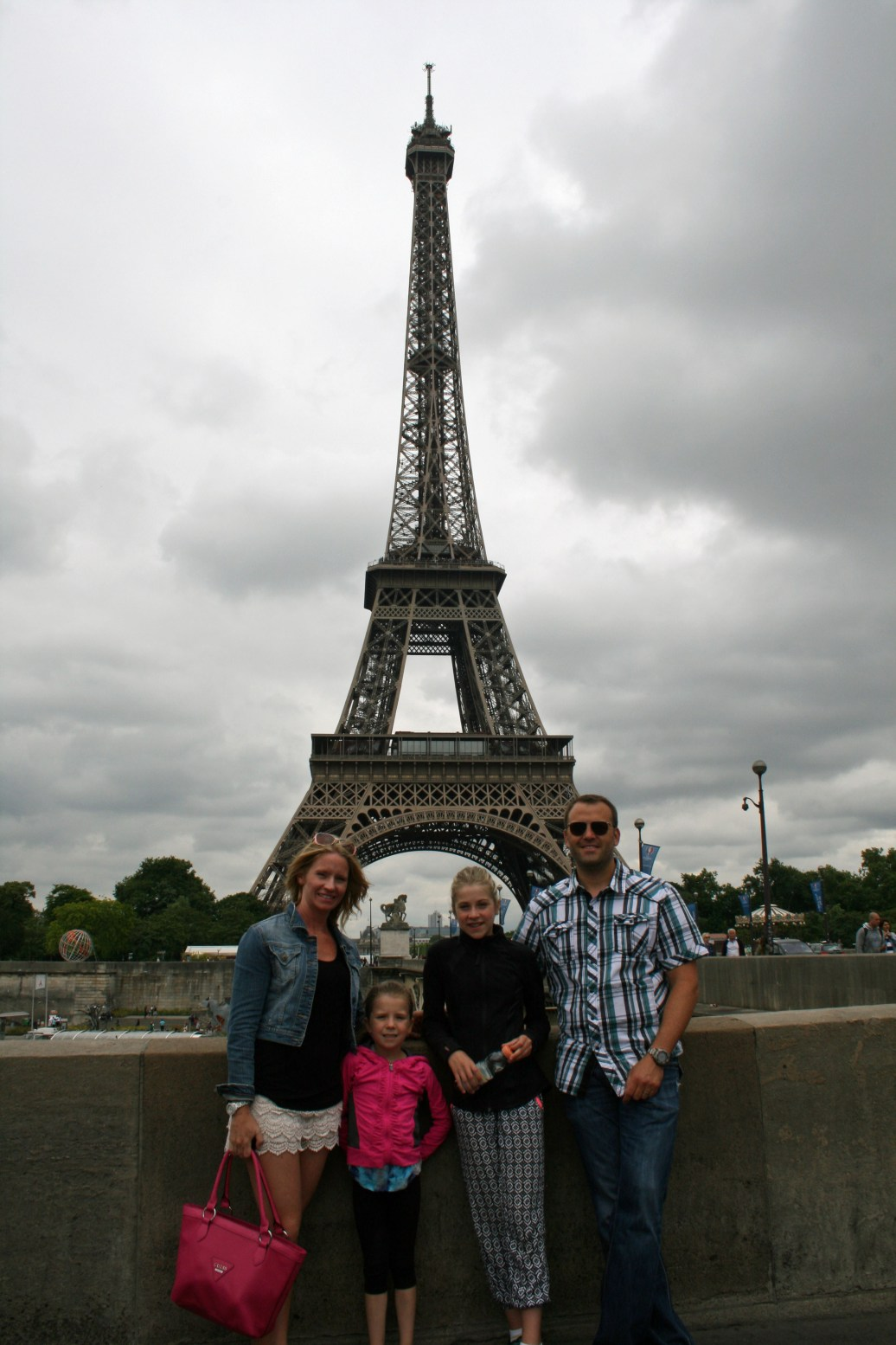 Our family on the Right Bank , Paris, France