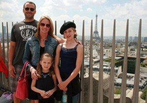 Atop the Arc De Triomphe