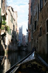 The narrow Canals of Venice