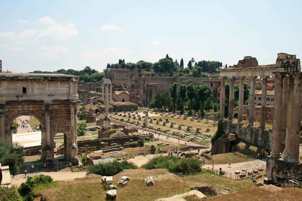 Roman Forum Grounds