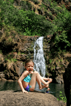 Brooke at the Falls