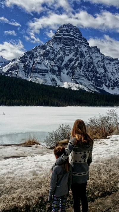 Just north of Banff