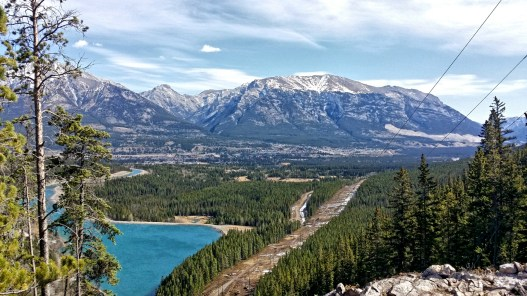 View of Canmore
