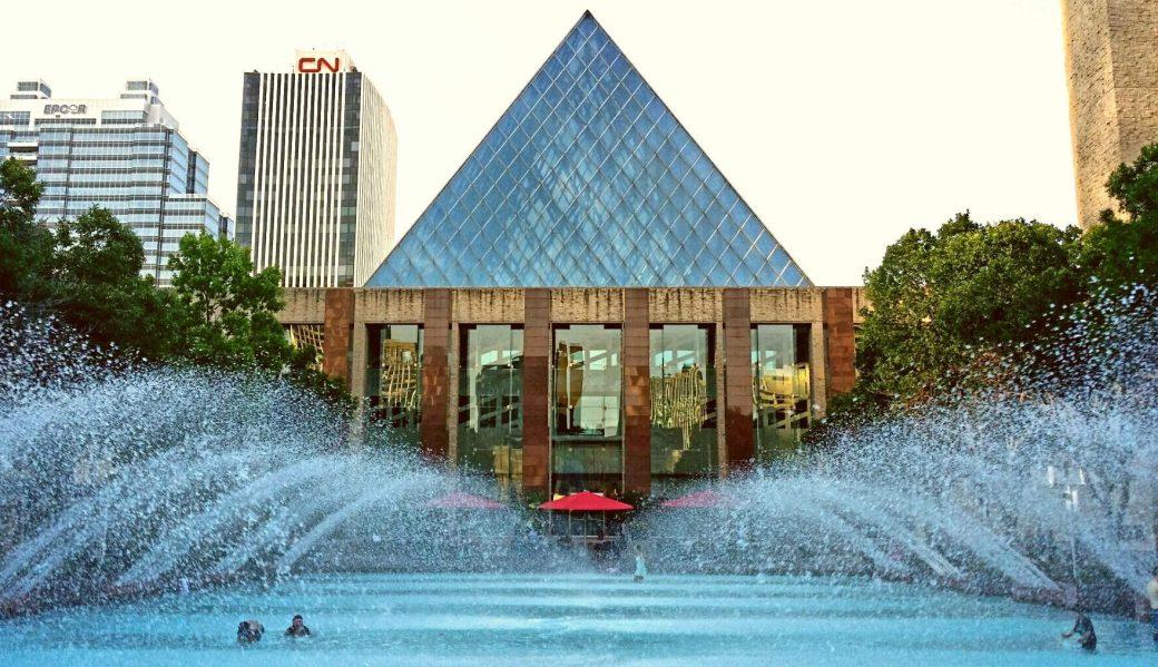 Churchill Square, Edmonton, Alberta, Canada