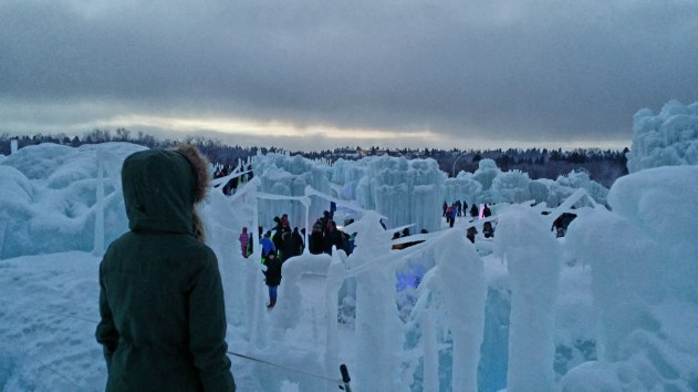 Edmonton Ice Castle