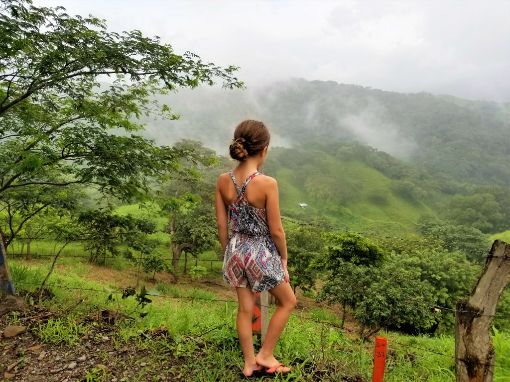 Along the '606' to Monteverde, Costa Rica