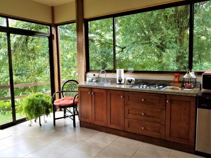 Kitchen, Casa Mia, Monteverde, Costa Rica