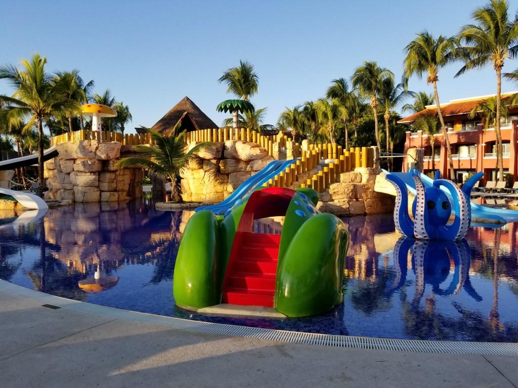 Barcy Kids Pool, Colonial Section, Barcelo Maya Grand, Mayan Riviera, Mexico