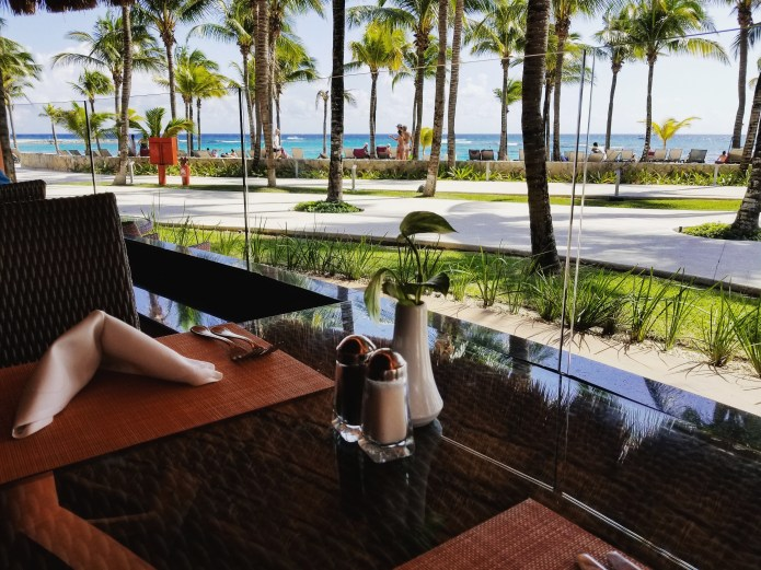 View from Palmeras Grill, Barcelo Maya Grand Resort, Mexico