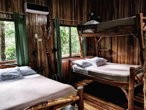 Bunkbeds, Tree Houses Hotel, Costa Rica