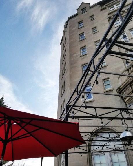 Patio, Fairmont Hotel Macdonald