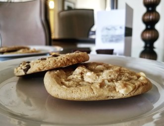 A Cookie Greeting, Fairmont Hotel Macdonald, Edmonton, Alberta