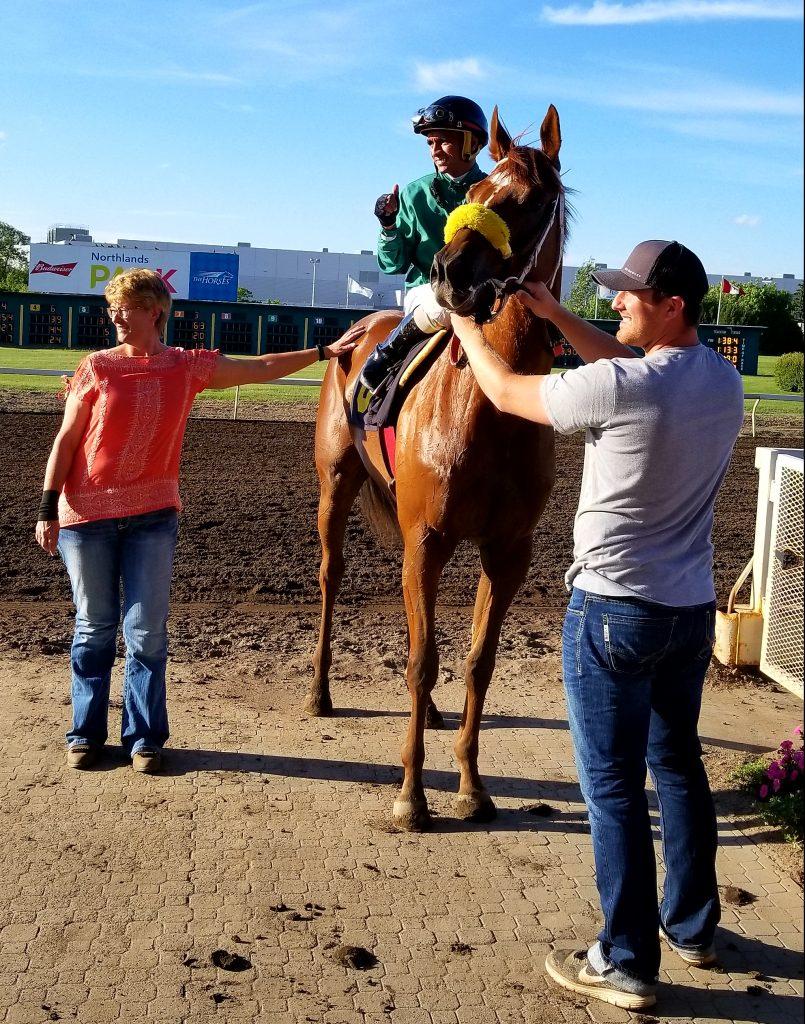 The Winners Circle, Thoroughbred Horse Racing, Edmonton