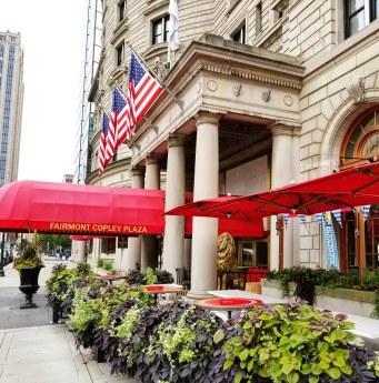 St James Entrance, Fairmont Copley Plaza Hotel, Boston