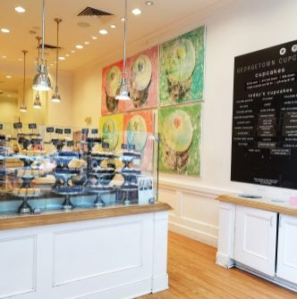 Georgetown Cupcake, Newbury Street, Boston