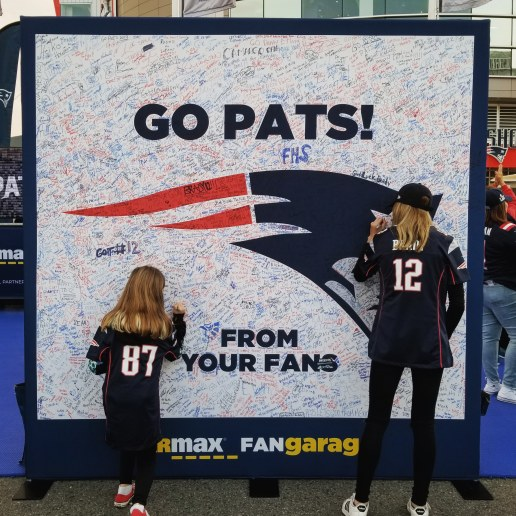 Patriots Thursday Night Football Pre Party, Gillette Stadium