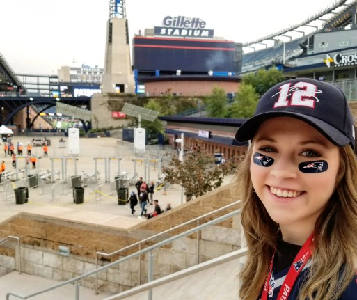 Game Day! Patriot Place, Foxborough, New England