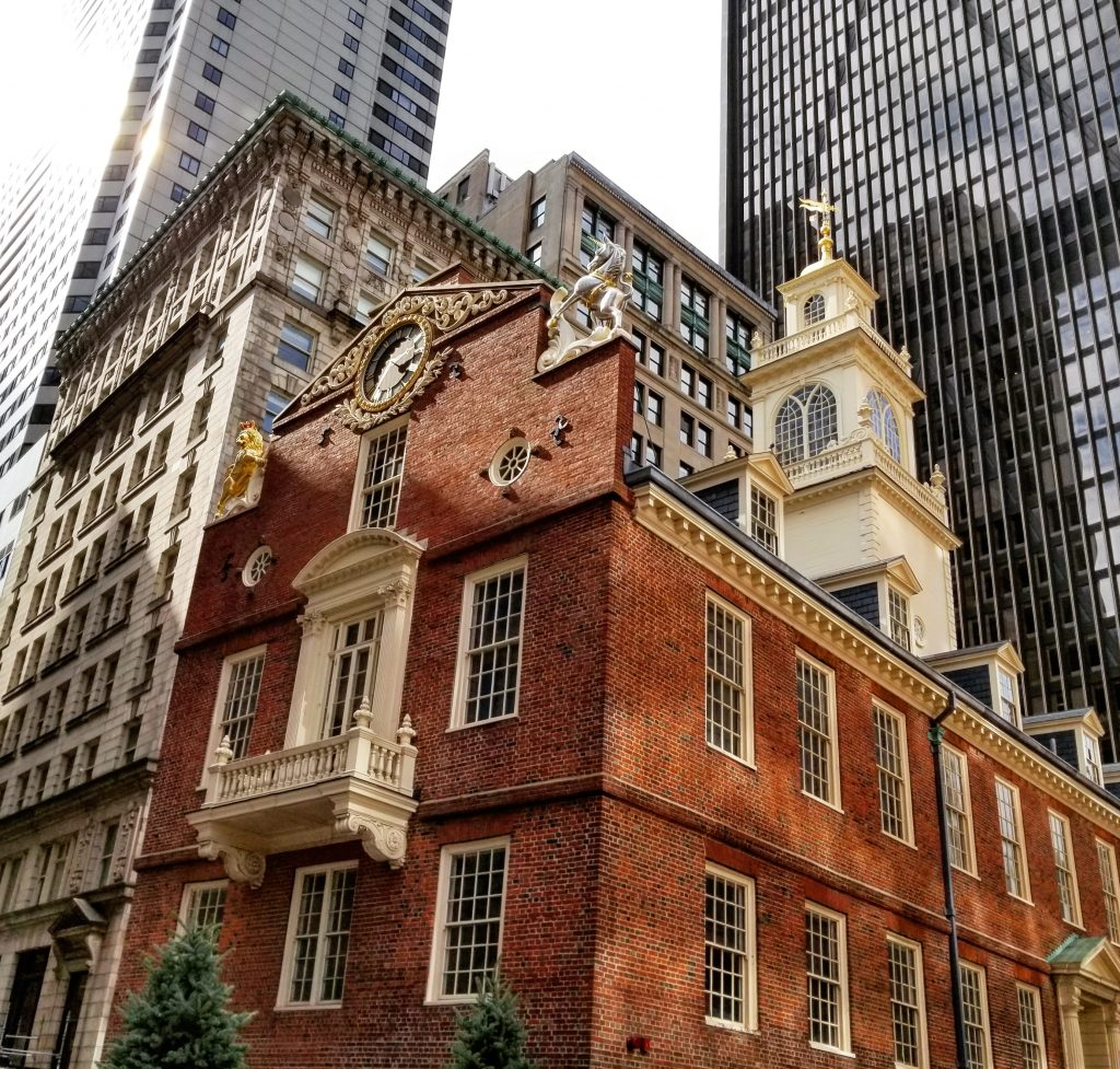 Old State House, Freedom Trail, Boston, Massachusetts
