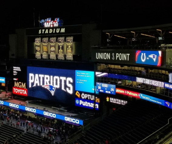 Gillette Stadium, New England Patriots