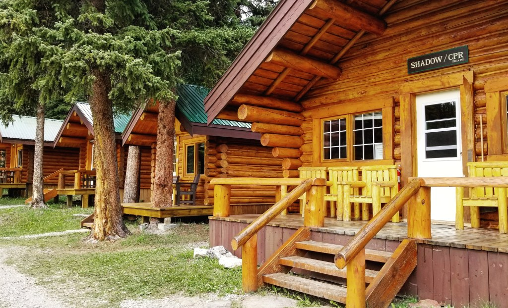 Original Cabin, Shadow Lake Lodge, Banff, Alberta, Canada