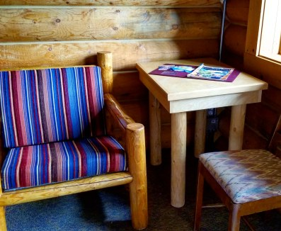 Cabin Interior, Shadow Lake Lodge, Banff, Alberta, Canada