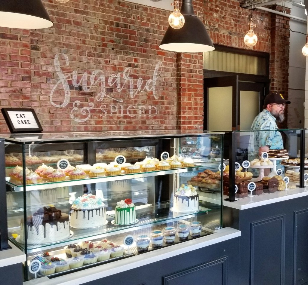 Sugared and Spiced Bakery, Edmonton, Alberta