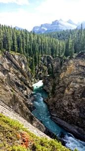 Siffleur Falls, Alberta, Canada