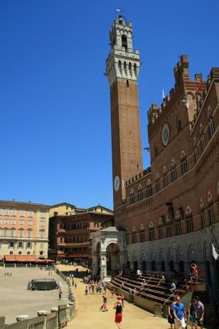 The Palio Track, Siena