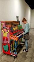 Interactive Piano Play, National Music Centre, Calgary