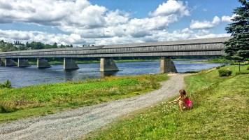 Hartland Covered Bridge, New Brunswick, Canada
