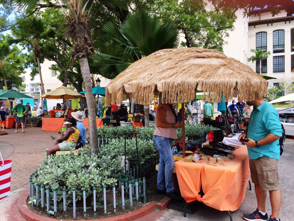 Artisans in Old San Juan
