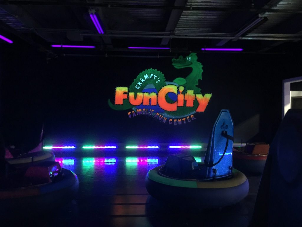 Fun city bumper cars arcade kids plattsburgh new york