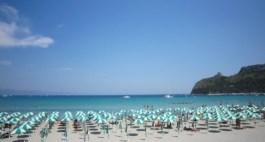 poetto beach sardinia italy