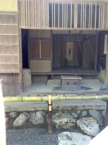 traditional tea room