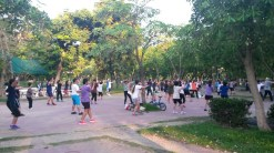 Lumphini Park - aerobics