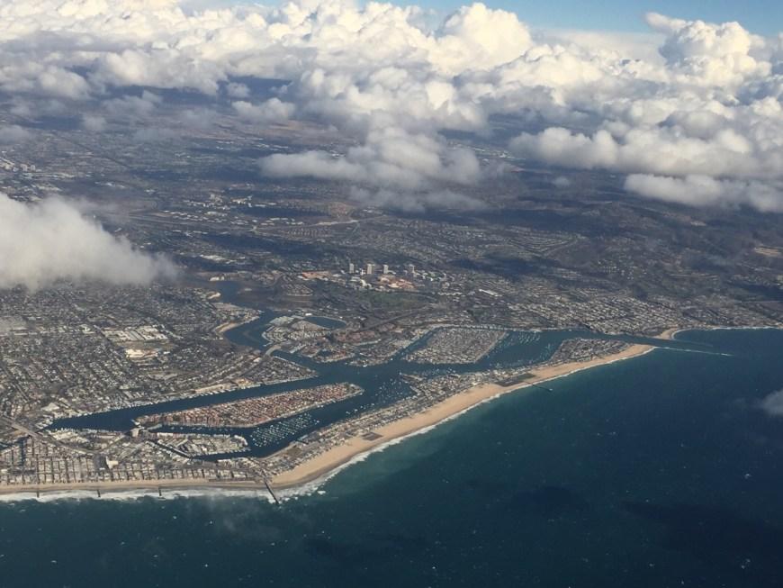 Newport Beach on the way to San Diego
