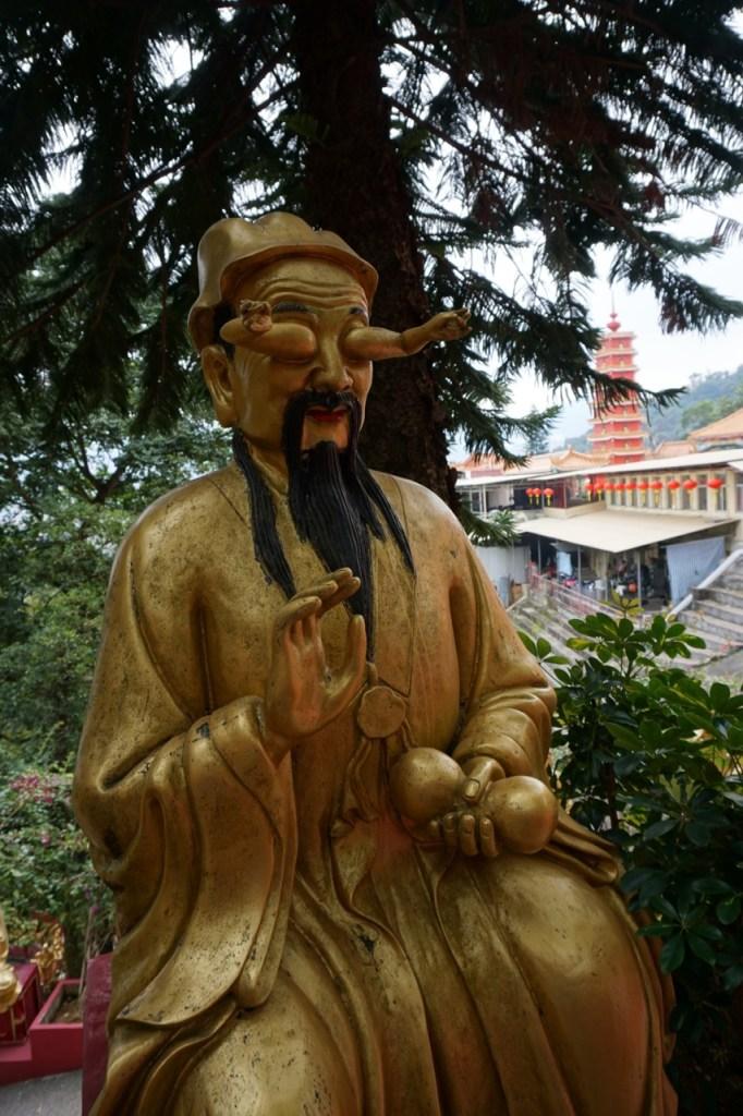 Arhat Statue Sha Tin Monastery Hong Kong